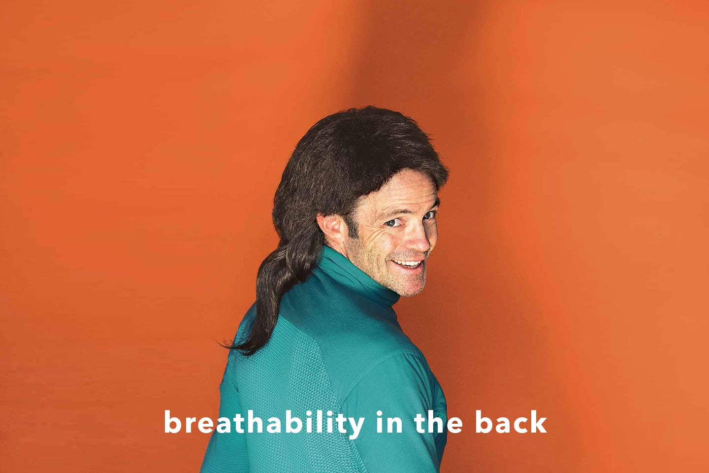 breathability in the back