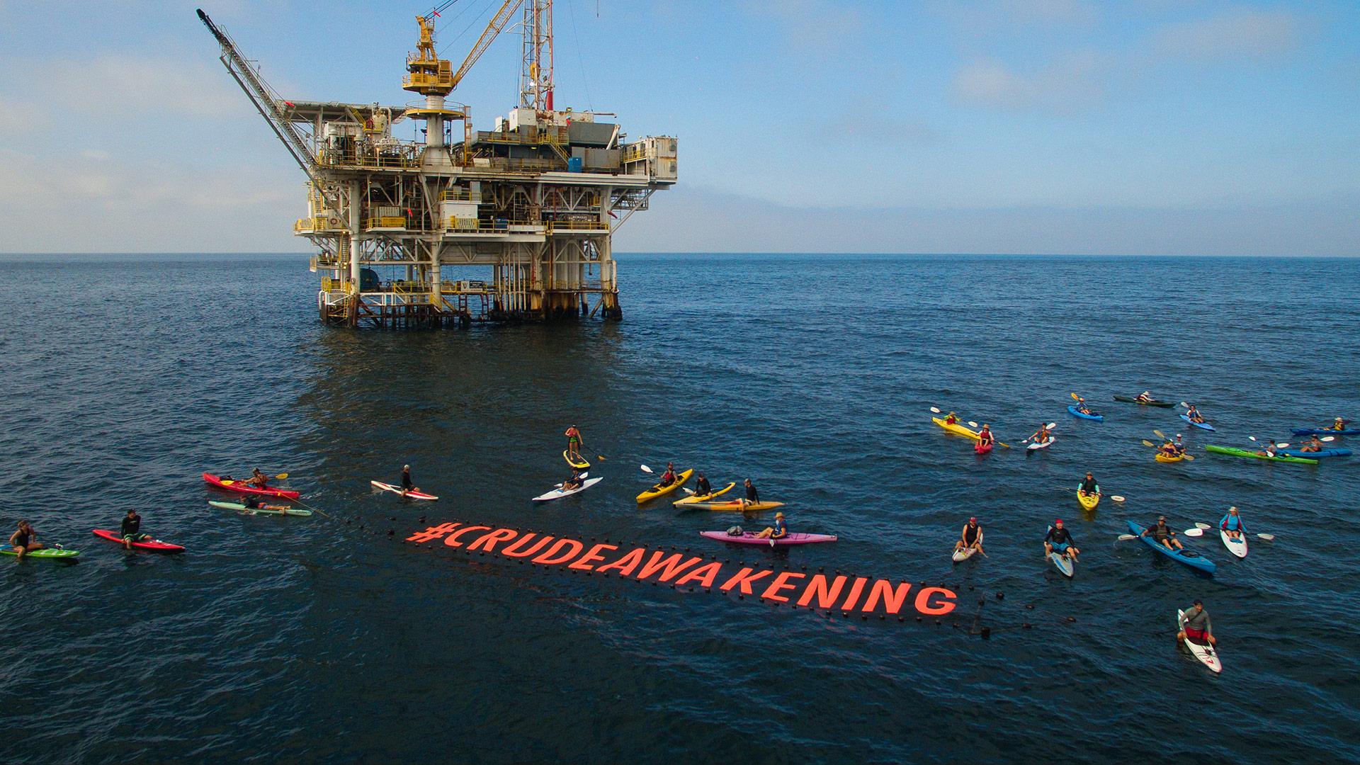 Patagonia y #crudeawakening para salvar el Planeta