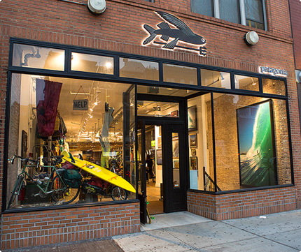 Patagonia New York Bowery Outdoor Clothing Store