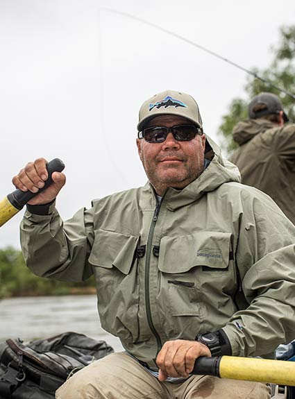 Patagonia Fly Fishing Ambassador Alejandro Haro