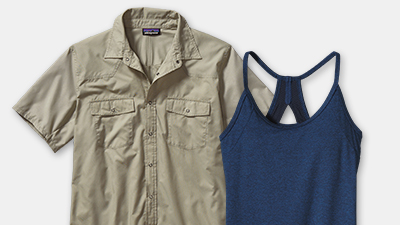 Shop Patagonia products with bluesign approved fabrics