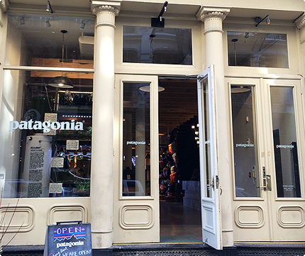 Patagonia New York SoHo