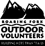 Roaring Fork Outdoor Volunteers Logo