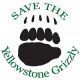 Save the Yellowstone Grizzly Logo