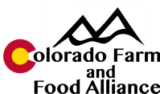 Colorado Farm & Food Alliance Logo
