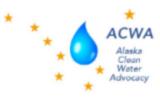 Alaska Clean Water Advocacy/Earth Island Institute Logo