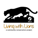Living with Lions, a project of Audubon Canyon Ranch Logo