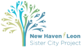 New Haven/León Sister City Project Logo
