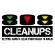 808 Cleanups Logo
