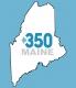 350 Maine Logo