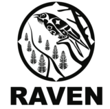 RAVEN (Respecting Aboriginal Values & Environmental Needs) Logo