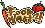 """Food, What?!"" Logo"
