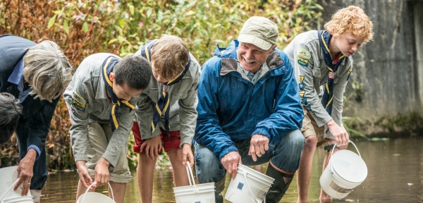 Hope Mountain Centre for Outdoor Learning – World Rivers Day