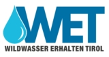 WET (Wildwasser Erhalten Tirol) Logo