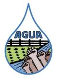 Asociación de Gente Unida por el Agua (AGUA) Logo