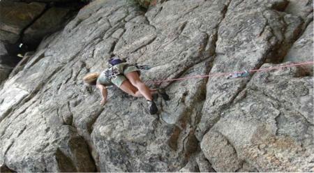 Lynn Hill Climbs in Italy