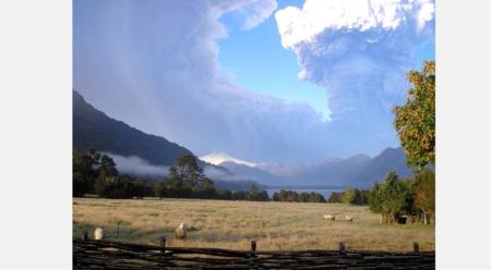 Eruption in the Backyard: Kris Tompkins Reports on the Chaiten Volcano