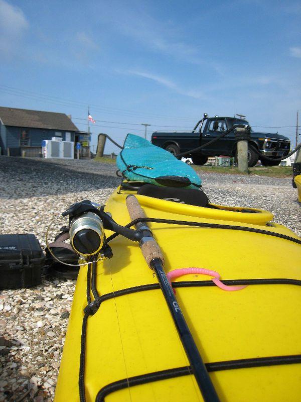 Kayak prep