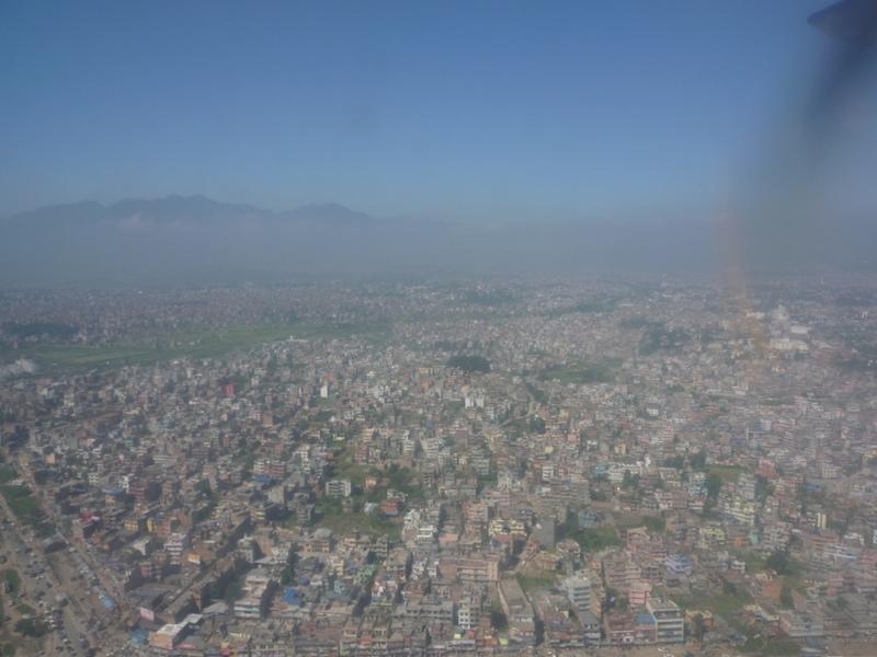 Kathmandu from the air 2