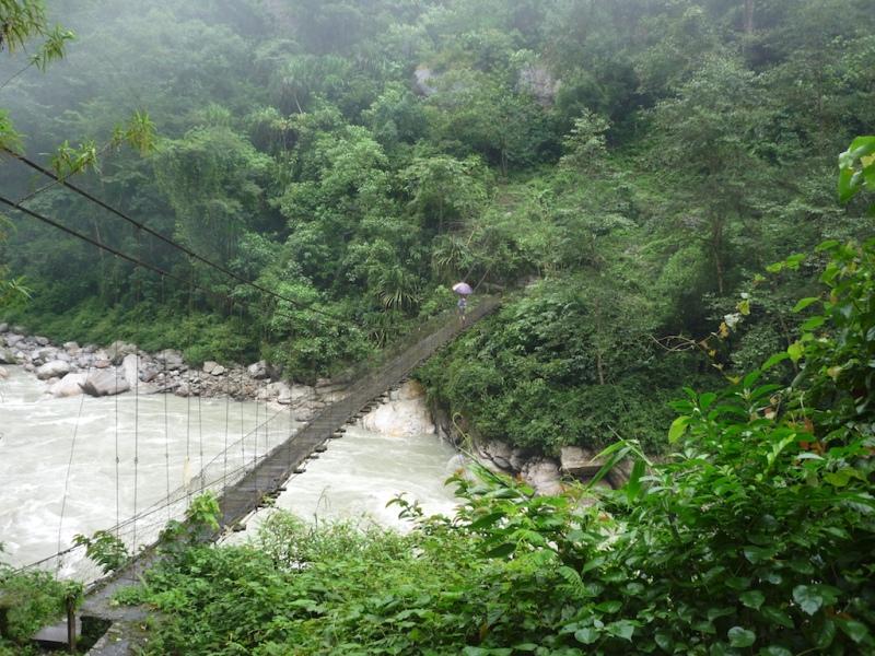 Crossing arun river 2