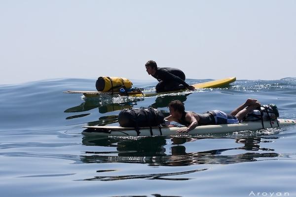 Coastal Paddle Odyssey day 1