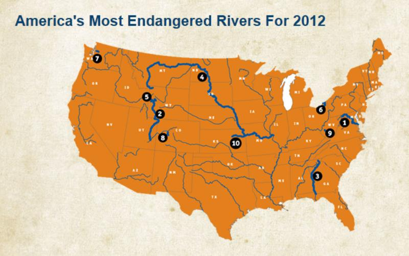 American_Rivers_map