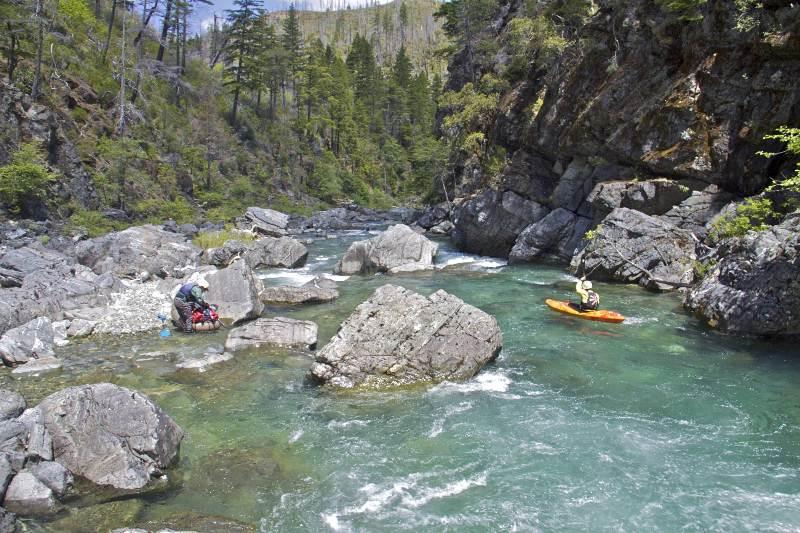 Paddling the Chetco River