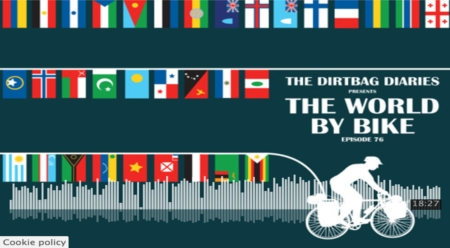 """Listen to """"The World by Bike"""" Dirtbag Diaries Podcast Episode"""