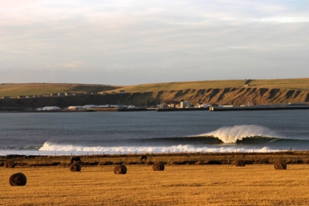Surfing in the UK and Ireland with Patrick Wilson: Photos