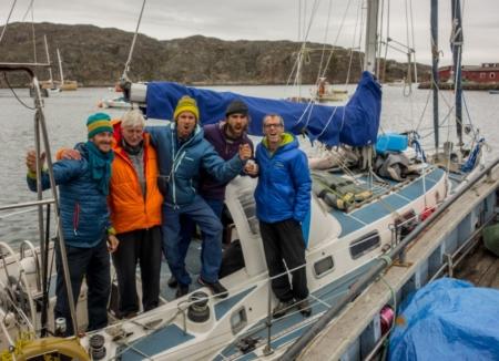Greenland Vertical Sailing 2014, Part 1: Warming Up in Uummannaq