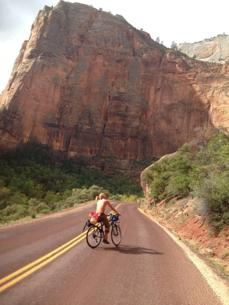 Lines in the Sand: A Long-Distance Southwest Bike Trip