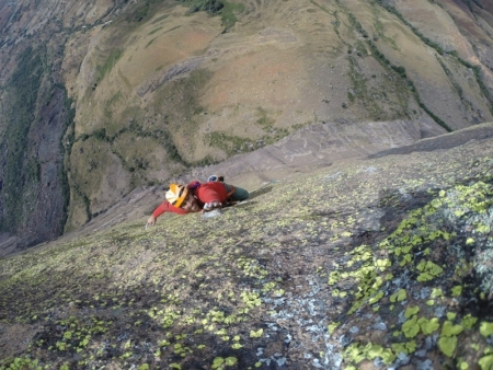 Two in the Tsaranoro Valley: A report from the rock walls of Madagascar