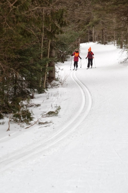 A Chance Meeting with the Visually Impaired Skiers from Ski for Light