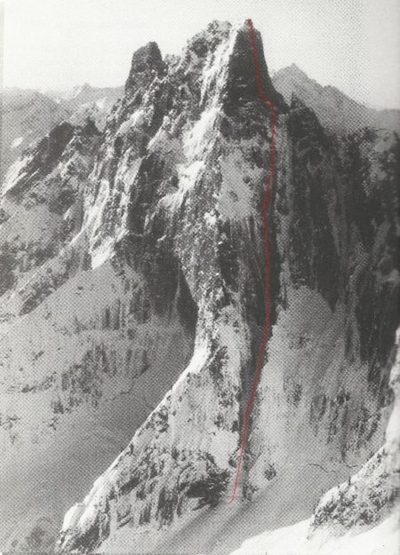 Colin Haley and Dylan Johnson Complete First Ascent of Slesse's Heart of Darkness