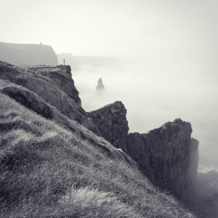 The Rescue Box: A Little Aid for Surfers in Ireland's Cliffs of Moher