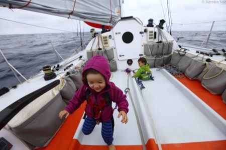 In Search of the Place of Dreams: Sailing with Three Young Kids