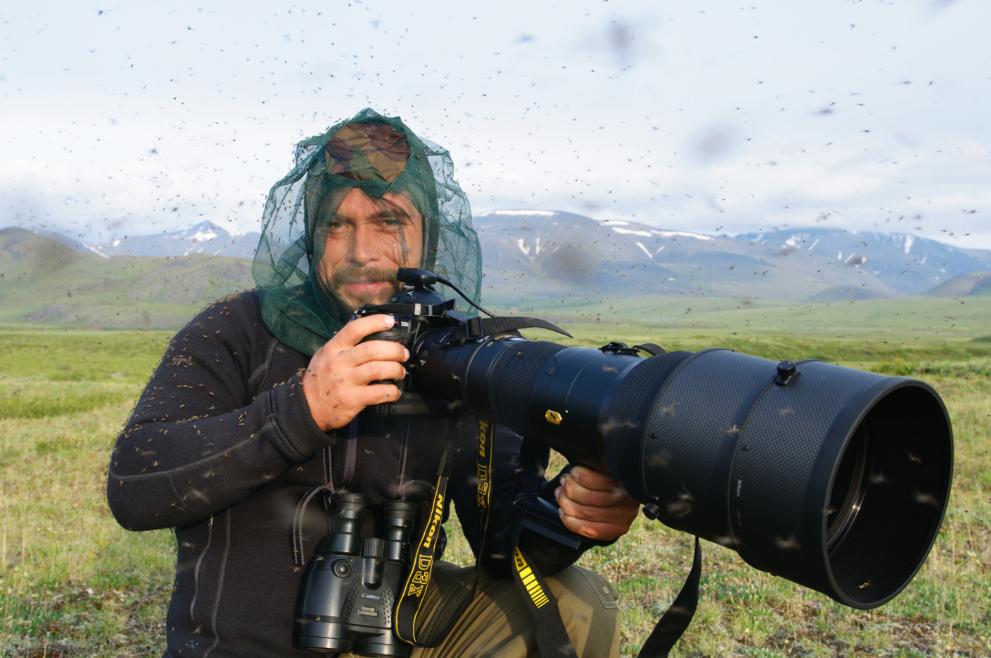 Florian Schulz is the youngest founding member of the International League of Conservation Photographers. His work has appeared in National Geographic and the New York Times, and has been exhibited by the Smithsonian Museum of National History and the American Museum of Natural History. In 2012, he won the Sierra Club's Ansel Adams Award for Conservation Photography. Photo: Salomon Schulz