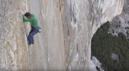 Watch Tommy Caldwell Climb Pitch 15 (5.14c) on The Dawn Wall