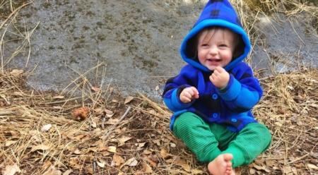 Happy little gnome. Photo: Rebecca Caldwell