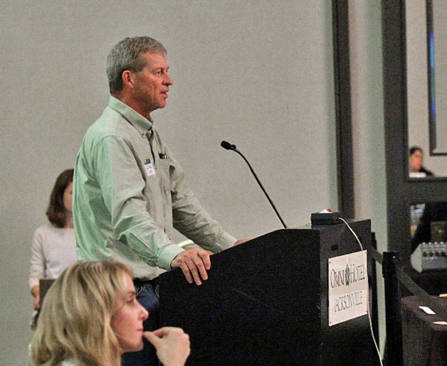 Jim Riddle, former NOSB chair and current chair of the Organic Farmers Association Steering Committee.