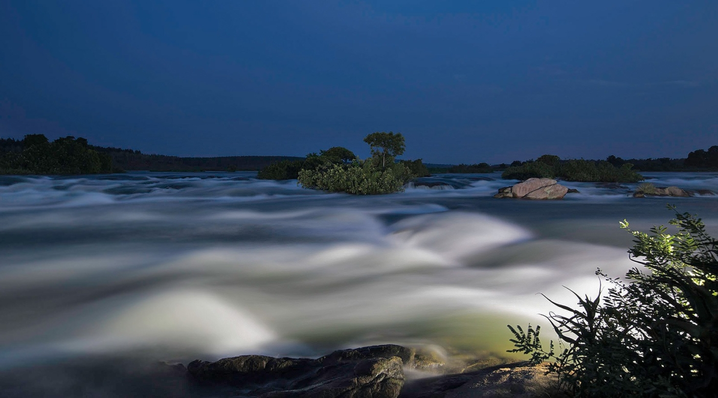 The White Nile River, a tributary of the Nile, flows through Uganda. Photo: Eli Reichman