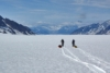 Crossing a Glacier in Wrangell–St. Elias National Park on Skis