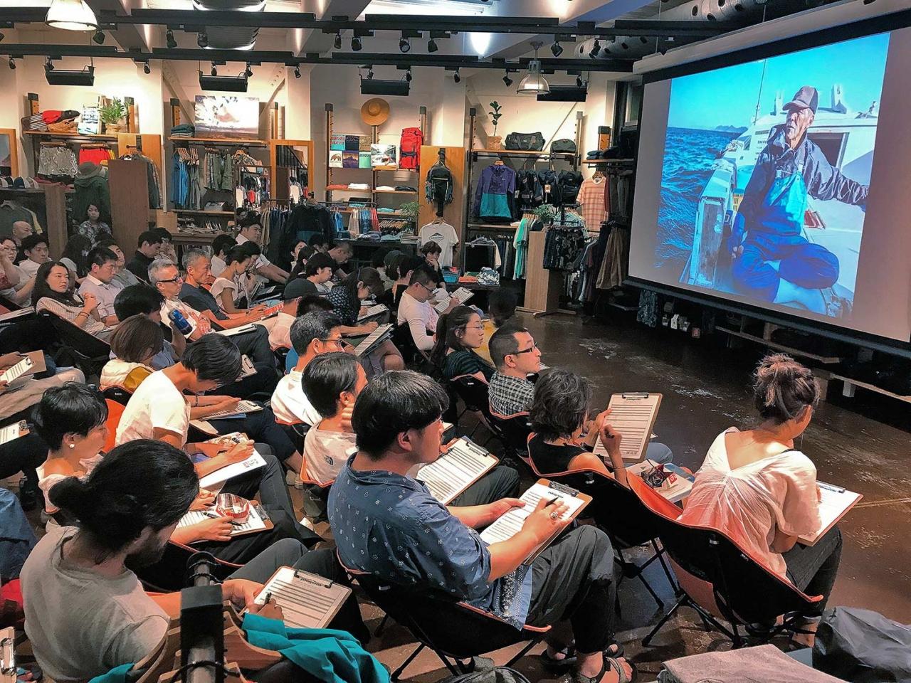 Sea of Miracles screening in Japan. Photo: Tetsuharu Kinoshiro