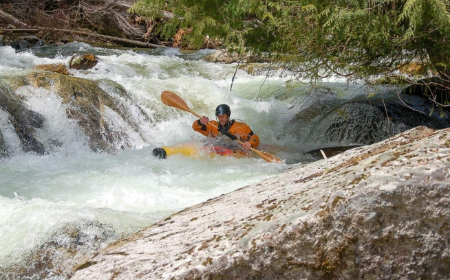 The Nez Perce-Clearwater National Forest (ID) will determine which streams to protect for potential Wild and Scenic designation through their forest plan over the coming year. American Whitewater has identified around 30 rivers and creeks in the Forest, including Three Links Creek (pictured), with outstandingly remarkable values and is advocating for their protection. Photo: Trip Kinney