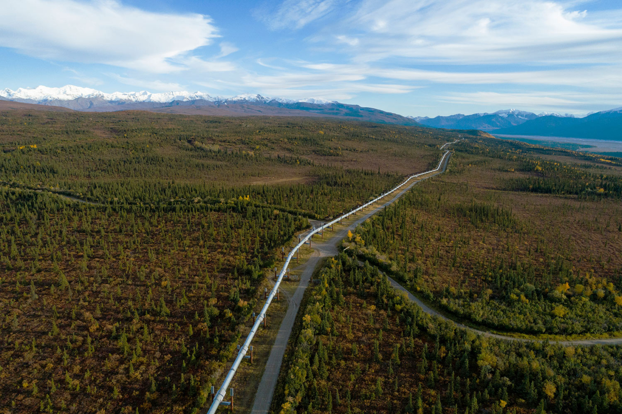 The Trans-Alaska Pipeline is an 800-mile pipeline that transports oil from Prudhoe Bay to Valdez, Alaska. Republicans have been proposing to open the Arctic National Wildlife Refuge to oil and gas development for decades. With a Republican held House and Senate, Senator Lisa Murkowski added a provision to the tax bill that included the opening of the Arctic National Wildlife Refuge for industrial development. Aggressive steps have since been taken to fast track development. Photo: Keri Oberly