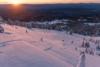Circumnavigating Crater Lake by Ski