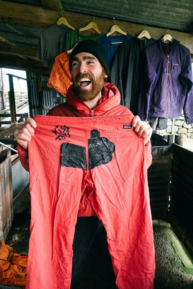 Through our Worn Wear program, Patagonia repaired 100,000 pieces of clothing in 2018. Keeping clothing in use just nine extra months can reduce the related carbon, water and waste footprints by up to a third. Photo: Donnie Hedden