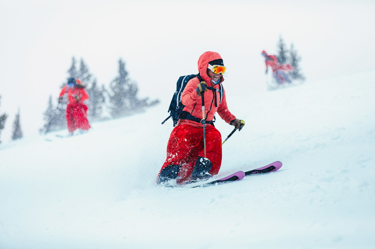 Once a Red Lady, always a Red Lady. These Crested Butte gals exhibit the symbiotic relationship between mountain and skier.   Photo: Forest Woodward