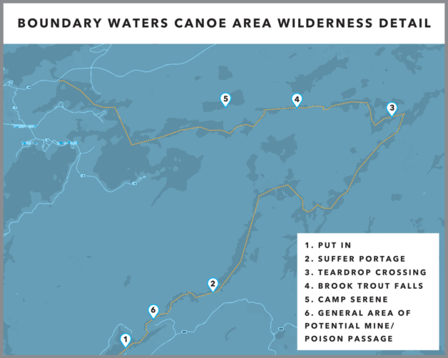 The Boundary Waters Canoe Area Wilderness stretches nearly 150 miles along the US-Canada border and encompasses more than one million acres—way too much territory for one fish-obsessed writer to explore in a life- time. With a canoe, fly rod, journal and not much else, Nathaniel Riverhorse Nakadate did manage to experience a few magical points on the map.