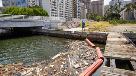 Garbage Bins for the Ocean